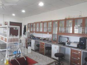 محیط آزمایشگاهی شرکت شایسته کار راد کاسپین