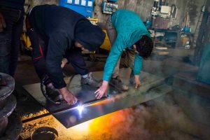 ساخت و اجرای تصفیه خانه فلزی
